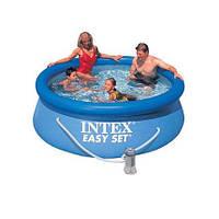 Бассейн с фильтрационным насосом Intex Easy Set Pool, (244х76см), 2419л