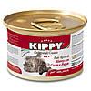 Консервы KIPPY паштет, говядина, сердце и печень, 200г