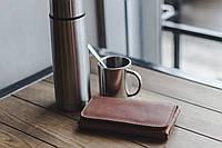 Портмоне натуральная кожа ручная работа Boorbon 205 большой кошелек для карт денег монет подарок для подруги