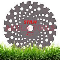 Диск 24-х лопастной STIHL 230мм (универсальный) по траве для мотокосы и бензокосы