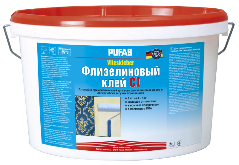 Флизелиновый клей Pufas CI  10кг