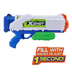 Бластер  Быстрая перезарядка 1 секунда  Zuru X Shot Blaster