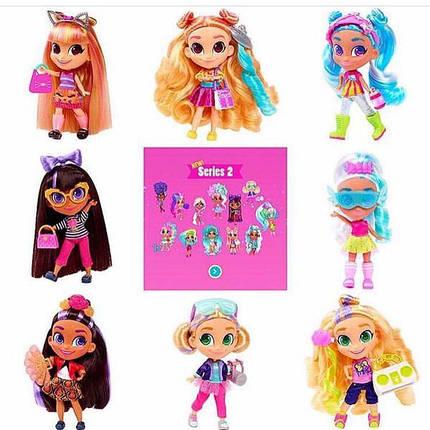 """Кукла с волосами """"HairDorables"""" 2 сезон на листе, фото 2"""