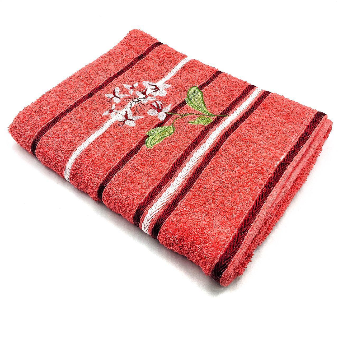 Полотенце банное 70х140 Цветочек (2.4)