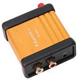 Bluetooth 4.2 CSR64215 APTX Высококачественный модуль декодера аудио. DC 5V AUX. корпус с внешней антенной., фото 3