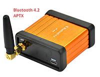 Bluetooth 4.2 CSR64215 APTX Высококачественный модуль декодера аудио. DC 5V AUX. корпус с внешней антенной., фото 1