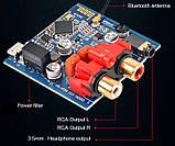 Bluetooth 4.2 CSR64215 APTX Высококачественный модуль декодера аудио. DC 5V AUX. корпус с внешней антенной., фото 7