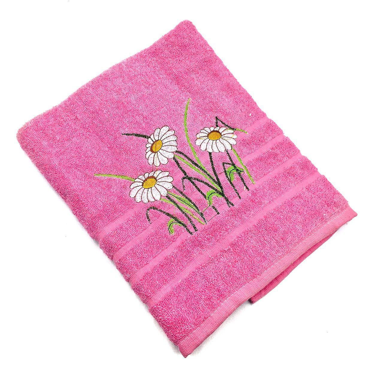 Махровое банное полотенце Полевая Ромашка (2.2)