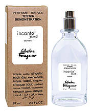 Тестер женский Salvatore Ferragamo Incanto Shine, 67 мл.