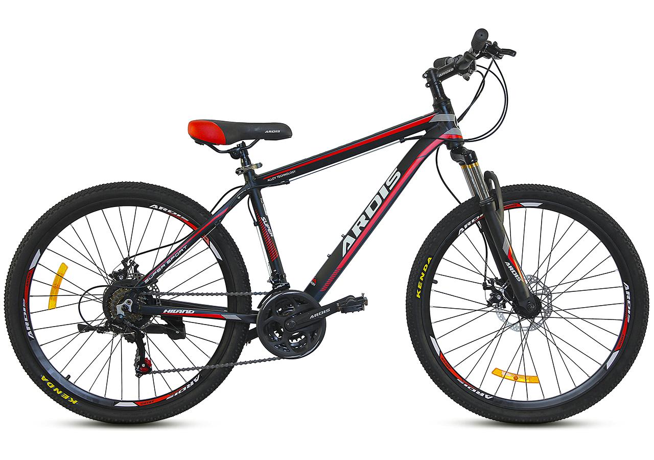 """Горный велосипед ARDIS HILAND 26"""" Черный/Красный"""