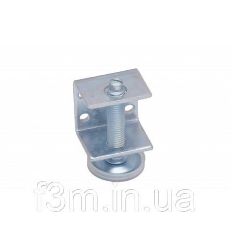 Опора - винт  М10 мм регулируемая F3M: с C-образным креплением и защитным колпачком, H= 60 мм