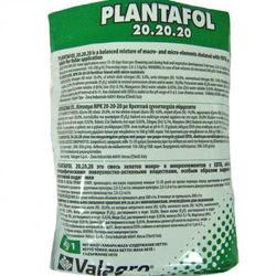 Плантафол NPK 20-20-20,1 кг — водорастворимое удобрение комплексное, универсальное
