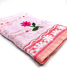 Банное махровое  полотенце Нежная Ромашка (2.7)