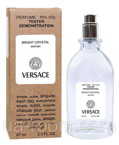Тестер женский Versace Bright Crystal, 67 мл., фото 2