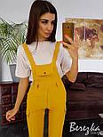 Женский стильный комплект: комбинезон и футболка (в расцветках), фото 3