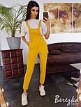 Женский стильный комплект: комбинезон и футболка (в расцветках), фото 5