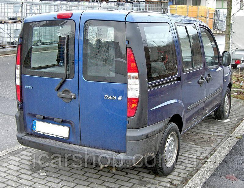 Скло Fiat Doblo I 00-10 тил лівий з електро обігрівачем SG