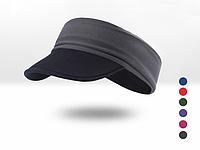 Повязка спортивная эластичная двухсторонняя / кепка / визор с мягким козырьком из неопрена «NorthFlag» E095-AB