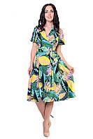 Модное женское летнее платье в размере 46,52