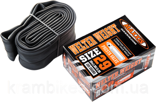 Камера Maxxis Welter Weight 29x1.90/2.35 FV L:48mm 201 grams