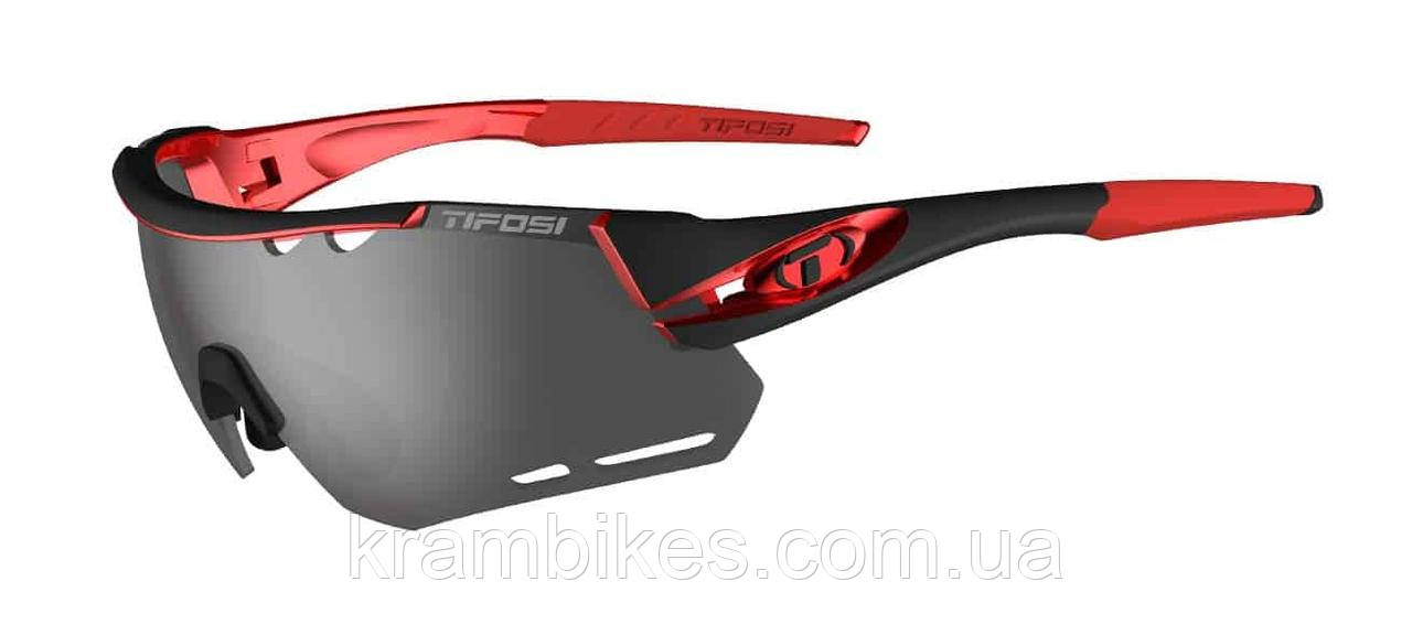 Очки Tifosi - Alliant Black/Red с линзами Smoke / AC Red / Clear