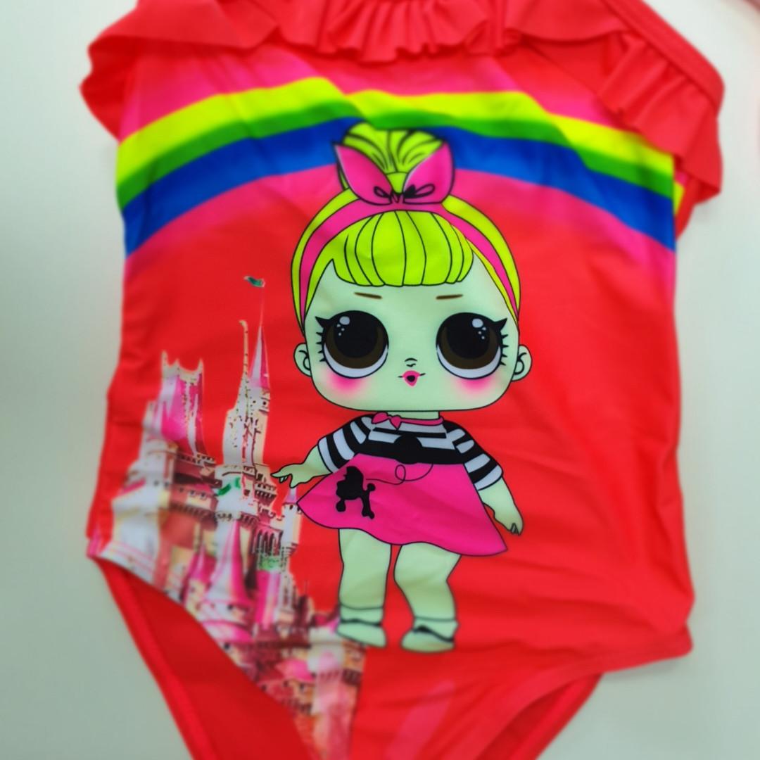 Сдельный детский купальник LOL 646