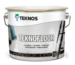TEKNOS TEKNOFLOOR Глянцевая краска для бетона База 3 9л