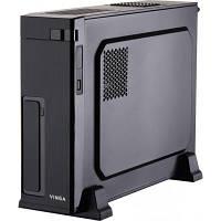 Корпус CS302B Black (Desktop),2USB+audio, mATX/mITX