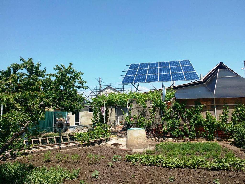 """Раздельная солнечная электростанция под """"зеленый"""" тариф мощностью 12 кВт Risen + Fronius Одесская область"""