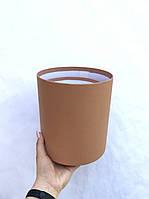 Коробка средняя круглая высокая без крышки, фото 1