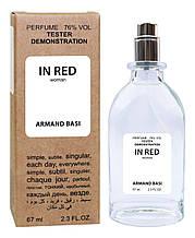 Тестер женский ARMAND BASI in red, 67 мл.