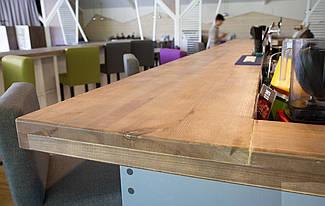 Массив дерева: барная стойка для кофейни