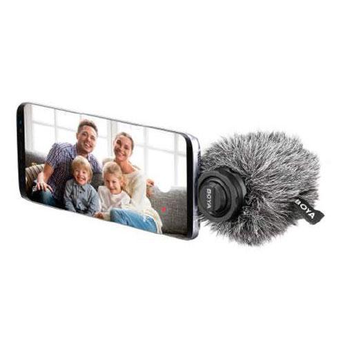 Динамічний мікрофон для смартфонів, гаджетів на Android Boya BY-DM100