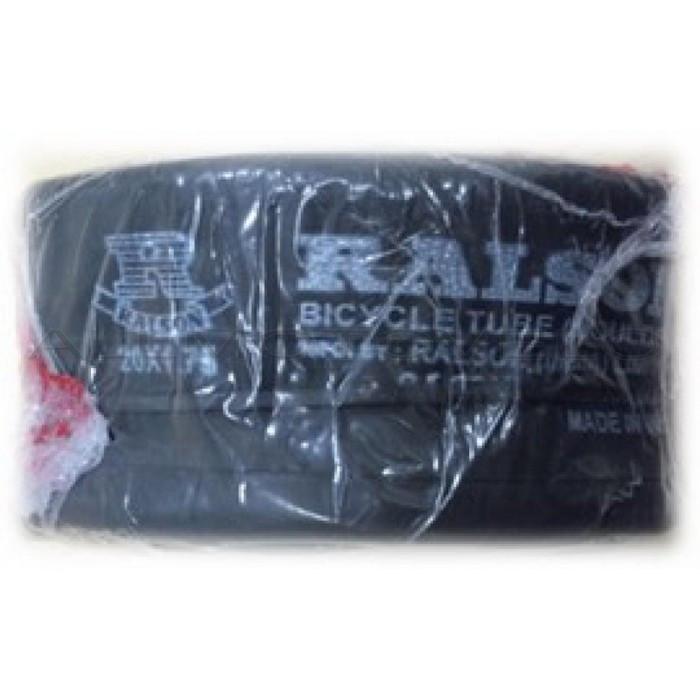 """Велокамера 24"""" x 1,9 / 2.125 AV 35 мм чорна RALSON"""