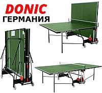 Теннисный стол Donic Outdoor Roller 400 всепогодный Green