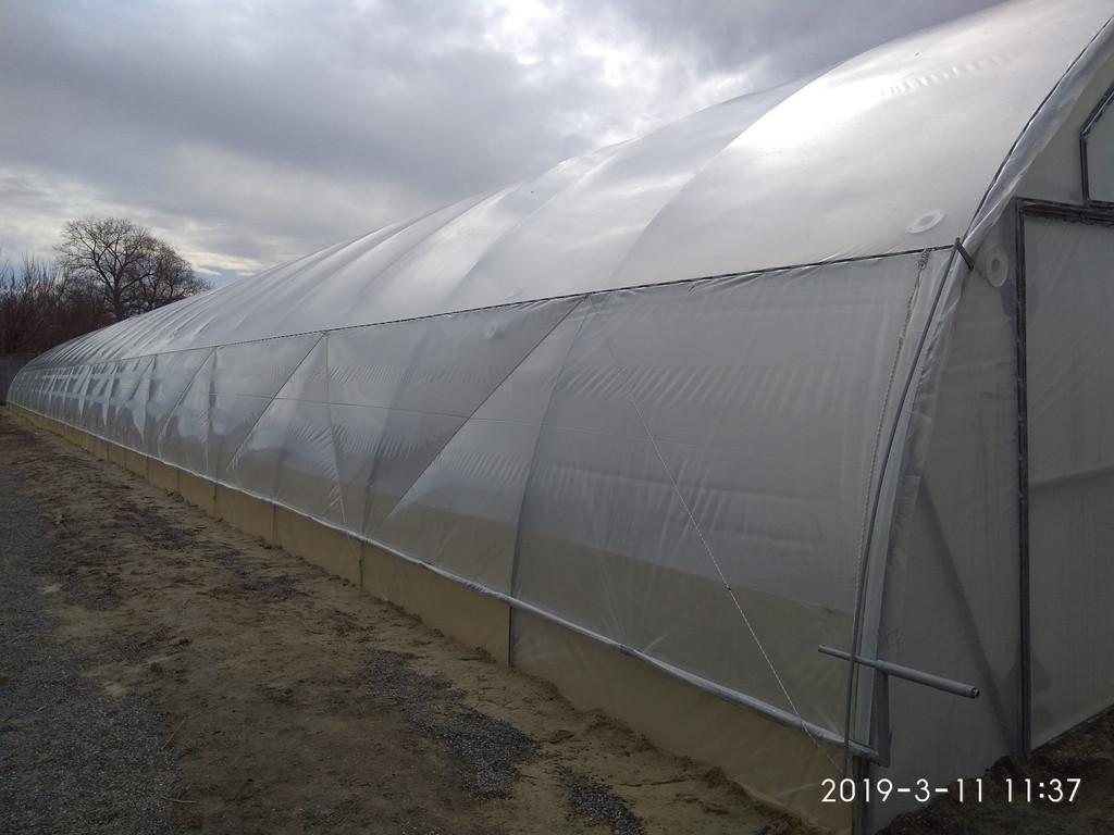 Теплица фермерская в Черкассах 10х54 метра