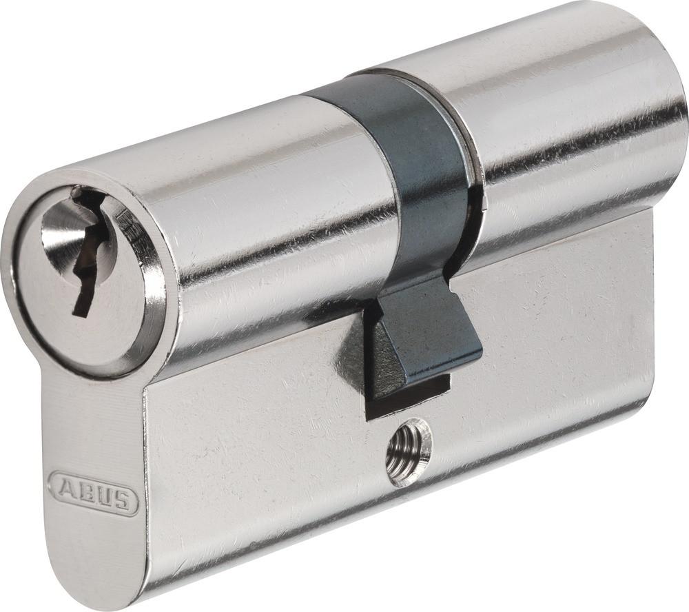 Циліндр Abus E45N 45/50, базова безпека (нікель)