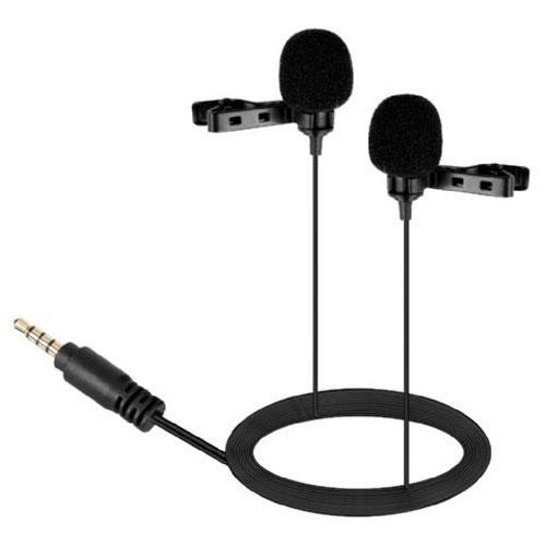 Двойной петличный микрофон для смартфона Boya BY-LM400