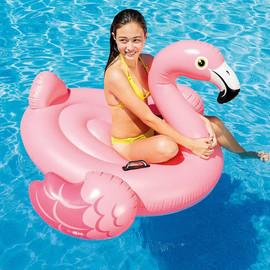 Надувной плотик Розовый Фламинго Интекс Intex
