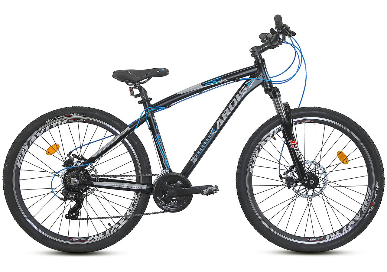 """Горный велосипед Ardis AARON 27,5"""" алюминиевый с дисковыми тормозами, Черно-синий"""