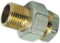 """Сгон """"Американка"""" диаметр 1-1/2"""" дюйма прямой резьбовое соединение для систем водоснабжения."""