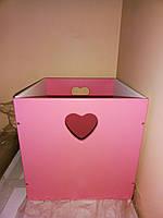 Ящик деревянный для хранения 4 цвета. Бесплатная доставка.