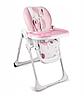Детский стульчик для кормления Kinderkraft YUMMY (розовый)