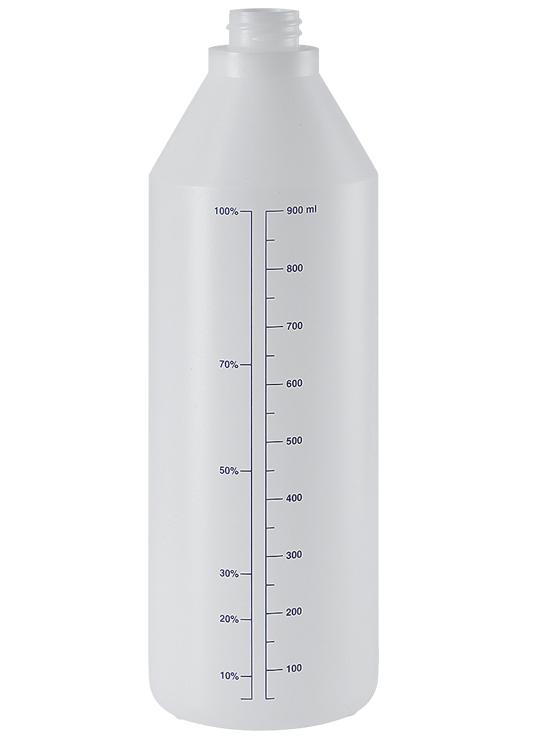 Бутылка 1 л EPOCA химически стойкая для пенных насадок