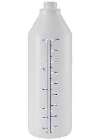 Бутылка 1 л EPOCA химически стойкая для пенных насадок, фото 2