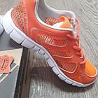 Кроссовки Bona сетка оранжевые размер 36, фото 5