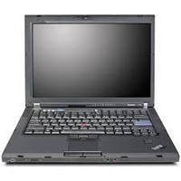"Б/У Ноутбук 15,4"" Lenovo ThinkPad T61 Intel Core2Duo/4Гб DDR2/160Gb HDD/Intel GMA/АКБ 1 час"