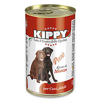 Консервы KIPPY Dog для собак с говядиной 1250 г