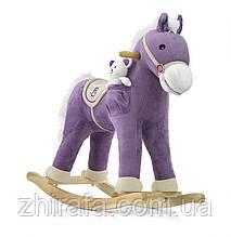 Інтерактивна Конячка-гойдалка Milly Mally Pony, махає хвостом, звуки Purple