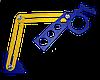 Шаблон-трафарет для разметки отверстий